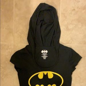 Batman hooded T-shirt size small